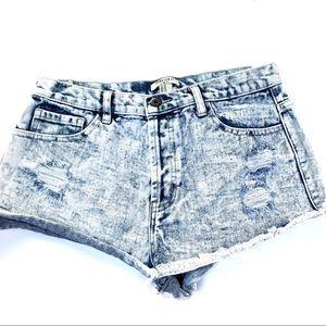 🌸🌵🌼F21 | Acid Wash Denim Shorts 29